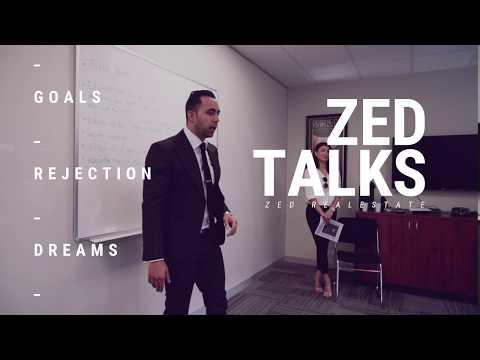 ZED TALKS - GOALS   & REJECTION - CISA PRINTING AUSTRALIA