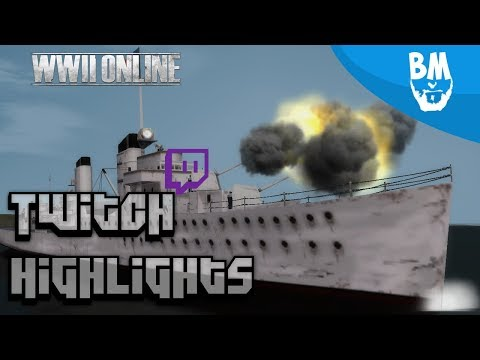 Repeat Naval Combat Gameplay | Twitch Highlights | World War