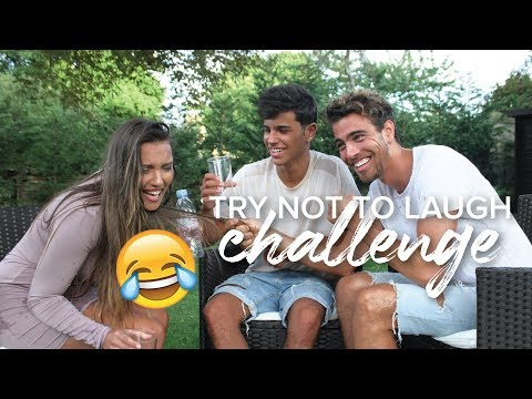 TRY NOT TO LAUGH CHALLENGE | with Lydia & Yanis Serbout (In French with English subtitles)
