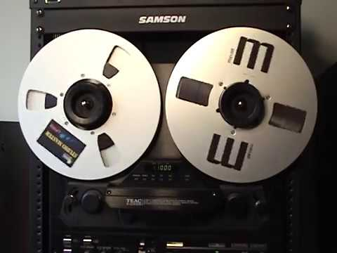 Teac X-2000R Reel To Reel Playing 80's Music