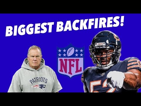 EVERY NFL Team's WORST BACKFIRES - Part 2