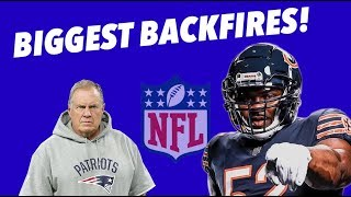 EVERY NFL Team's WORST BACKFIRES - Costly and Damaging Mistakes - Part 2