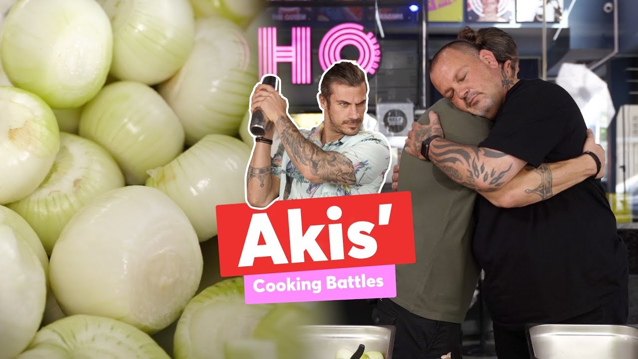 Akis' Cooking Battles | The Onion | Άκης Πετρετζίκης