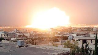 تجدد القصف على حلب بقنابل فوسفورية وسقوط قتلى