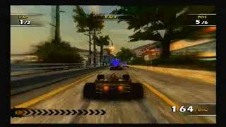 Burnout Dominator PS2: Race Gameplay part 1 + Intro