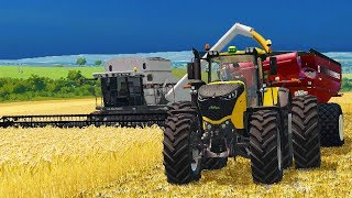 LOOK AT THE NEW GRAIN CART | TIREDBOG | FARMING SIMULATOR 2017