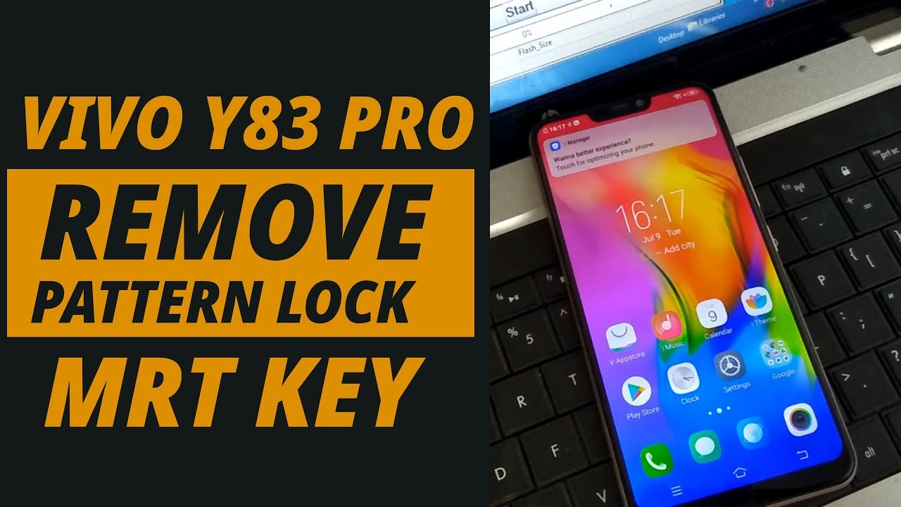 How to Remove Pattern Lock VIVO Y83 Pro MRT