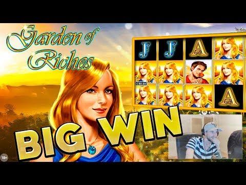 BIG WIN!!!! Garden of Riches Big win - Casino - Bonus Round (Online Casino)