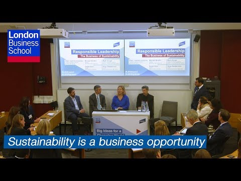 Responsible Leadership: The Business of Sustainability | London Business School