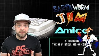 NEW Earthworm Jim EXCLUSIVE to Intellivision Amico!