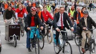 Шествие на велосипедах, Навальный - в немецких СМИ #димонответит