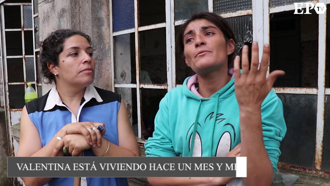 Ocho personas se refugian en el viejo edificio del colegio San Martín y piden ayuda