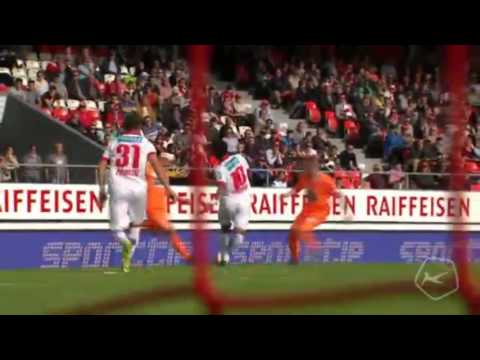 Sion vs. Grasshopper  3 - 2 All Goals ( Super League - 25 October 2015)