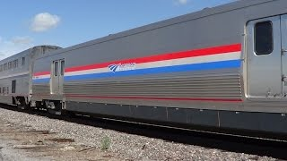 First Viewliner Baggage Car in Service on Amtrak #6