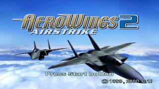 Aerowings 2: Airstrike Sega Dreamcast Intro
