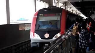 2019/04/13 【上海地下鉄】 3号線 03A01型 0316編成 上海駅駅 | Shanghai Metro Line 3: 03A01 Series #0316