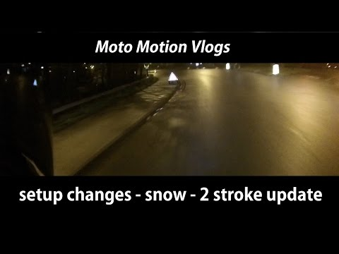 Camera Setup changes - Snow - Scooter update