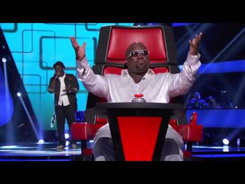 The Voice USA - Trevin Hunte's Blind Audition 'Listen'
