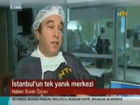 İstanbul'un Tek Yanık Merkezi Kartal Dr. Lütfi Kırdar EAH