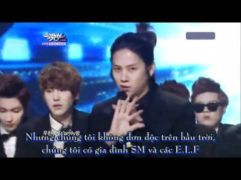 [Vietsub] Super man - Super Junior (Comeback stage 110805)