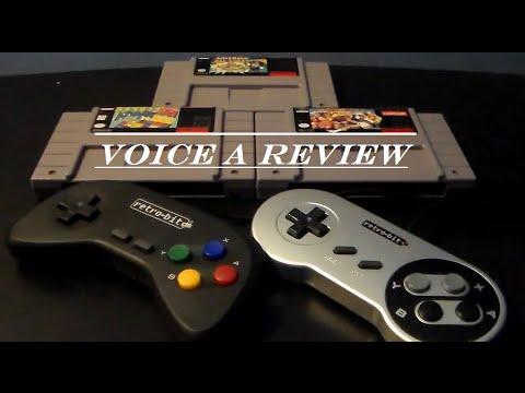 Voice a Review: Episode 17 - Retro-Bit Super Retro Console Controllers