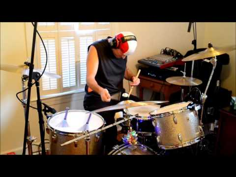 O Tannenbaum - Vince Guaraldi Trio - drum cover by bellbrass