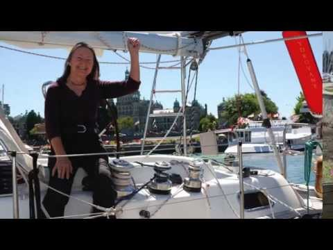 Interview with Jeanne Socrates, solo circumnavigator, about her Hydrovane