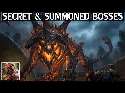 World of Warcraft's Secret & Summoned Bosses