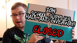 2014 School Supply Haul!! & GIVEAWAY! Thumbnail