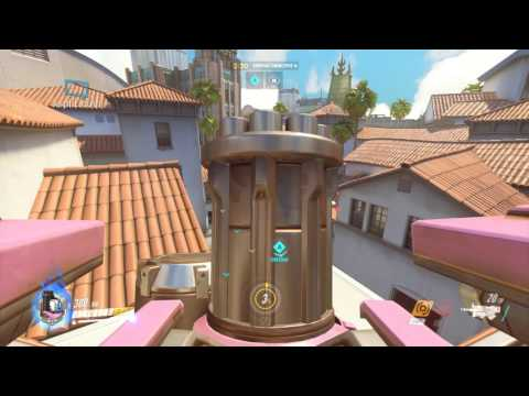 Overwatch Bastion game play video