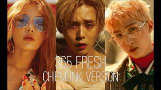 Video Triple H - 365 FRESH [Chipmunk Version] download MP3, 3GP, MP4, WEBM, AVI, FLV Maret 2018