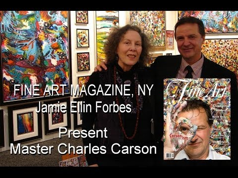 Interview - Art Expo New York - Fine Art Magazine - J. Forbes / Charles Carson, Canadian Artist