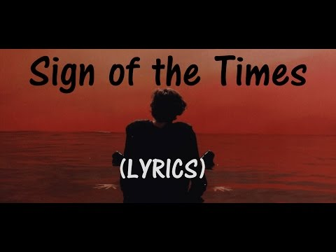 Harry Styles - Sign of the Times [LYRICS HD]