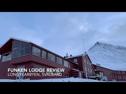 Tour of Funken Lodge, Longyearbyen, Svalbard