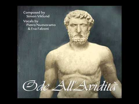 Ode All'Avidità (Ode to Greed)