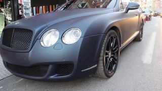 WolfCars Bentley Araç Oto Folyo Kaplama
