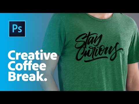 Creative Coffee Break: How to apply lettering to a Stock template in Photoshop CC | Adobe Stock