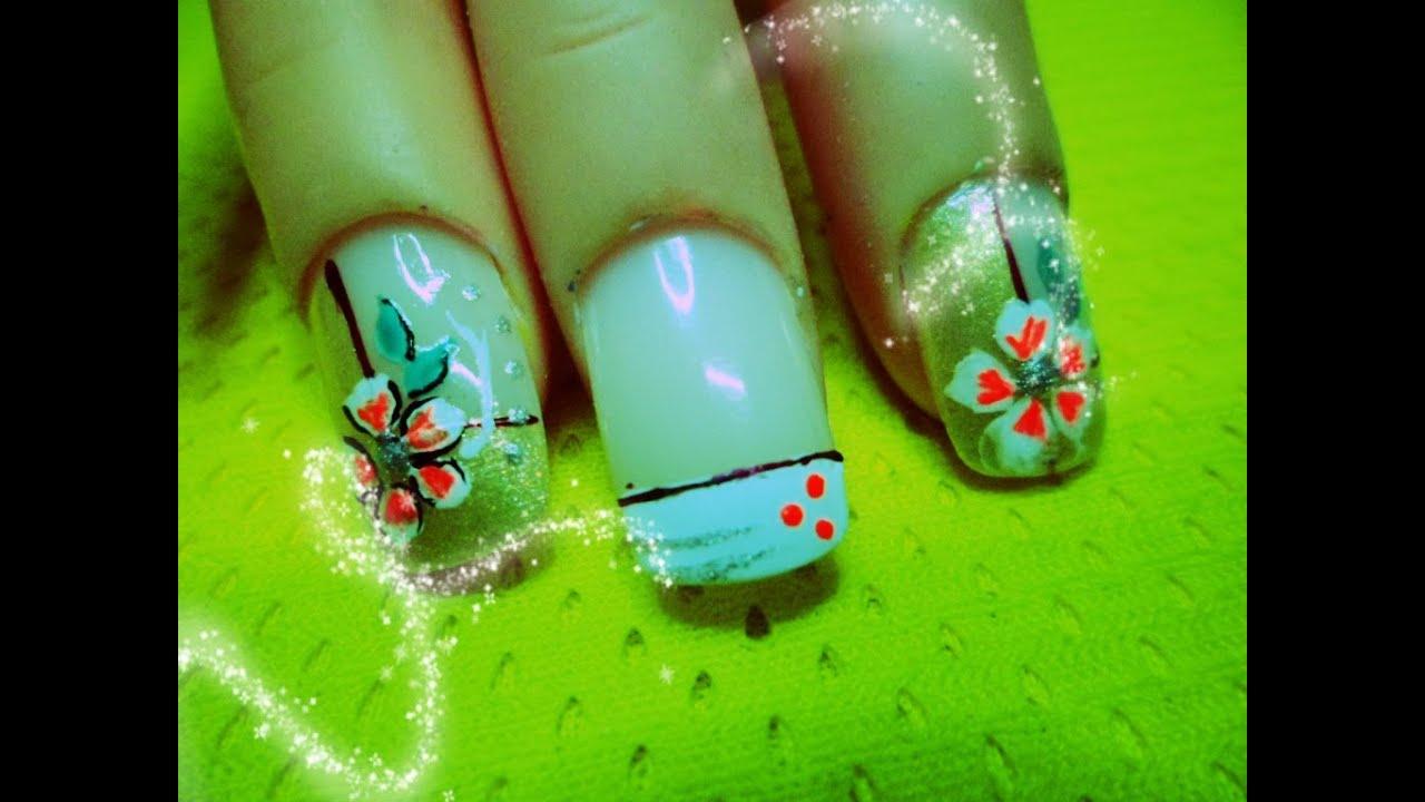 Asombroso Diseños De Uñas En Youtube Foto - Ideas de Pintar de Uñas ...