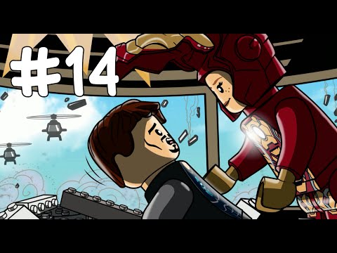 IRON MAN 3/IRON MAN'S STORY - LEGO Marvel's Avengers - Part 14(Türkçe Gameplay) HD