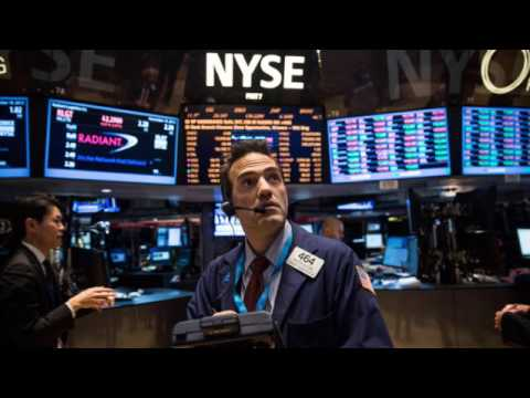 USA stock market crash 350 points. Stocks, dollar sink as investors rethink 'Trump trade'