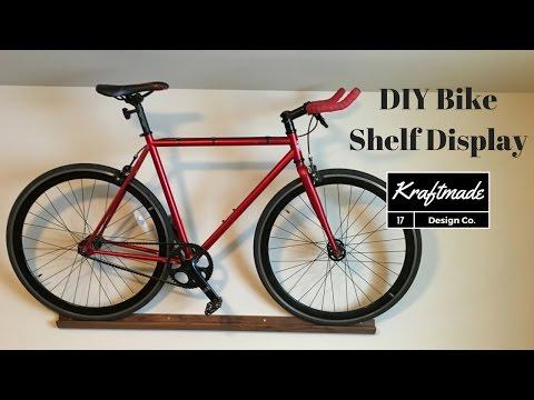 DIY Bike Shelf Display - Kraftmade