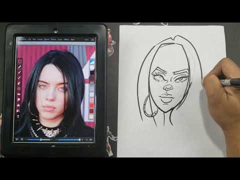 How To Draw A Caricature The Easy Way