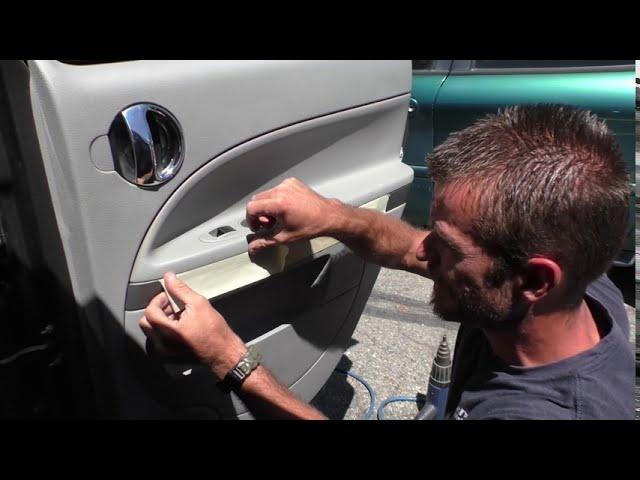 Car Door Panel Repair Part 1 - Eagle, Idaho