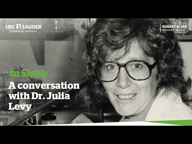 Video thumbnail for In Sight: A conversation with Dr. Julia Levy