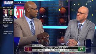 Cavaliers vs Celtics Game 2 Postgame Analysis | NBA Gametime | May 16, 2018