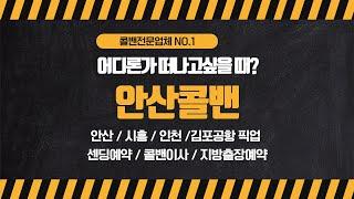안산콜밴 인천공항,김포공항 픽업/센딩