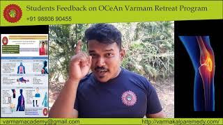 Varmam - Sundeep - OCeAn Varmam Retreat Program - Students Feedback