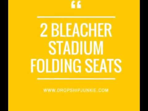 2 Padded Stadium Chairs for Bleachers | Sports Chairs