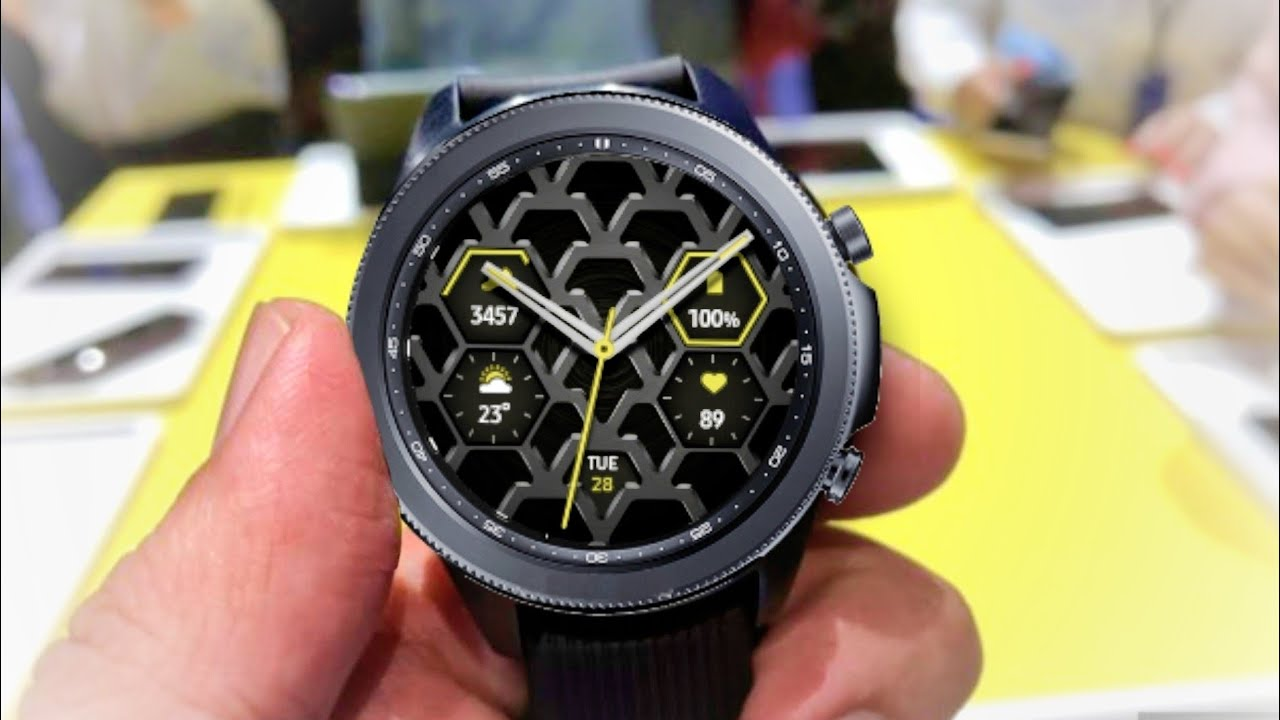 Samsung Galaxy Watch 3 - Official Look !