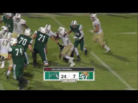 Stetson Men's Football Final Jacksonville 24 - Stetson 7